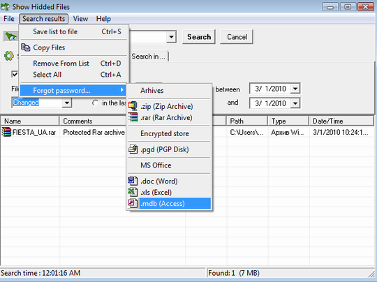 Use Show Hidden Files program to find pgp disk