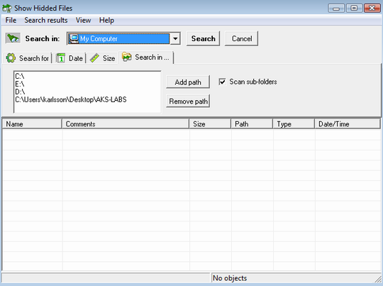 Don't know how to find hidden files? Ask AKS-LABS